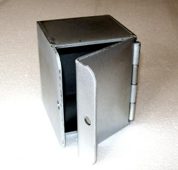Zinc Plated Padlockable Box for keyswitches